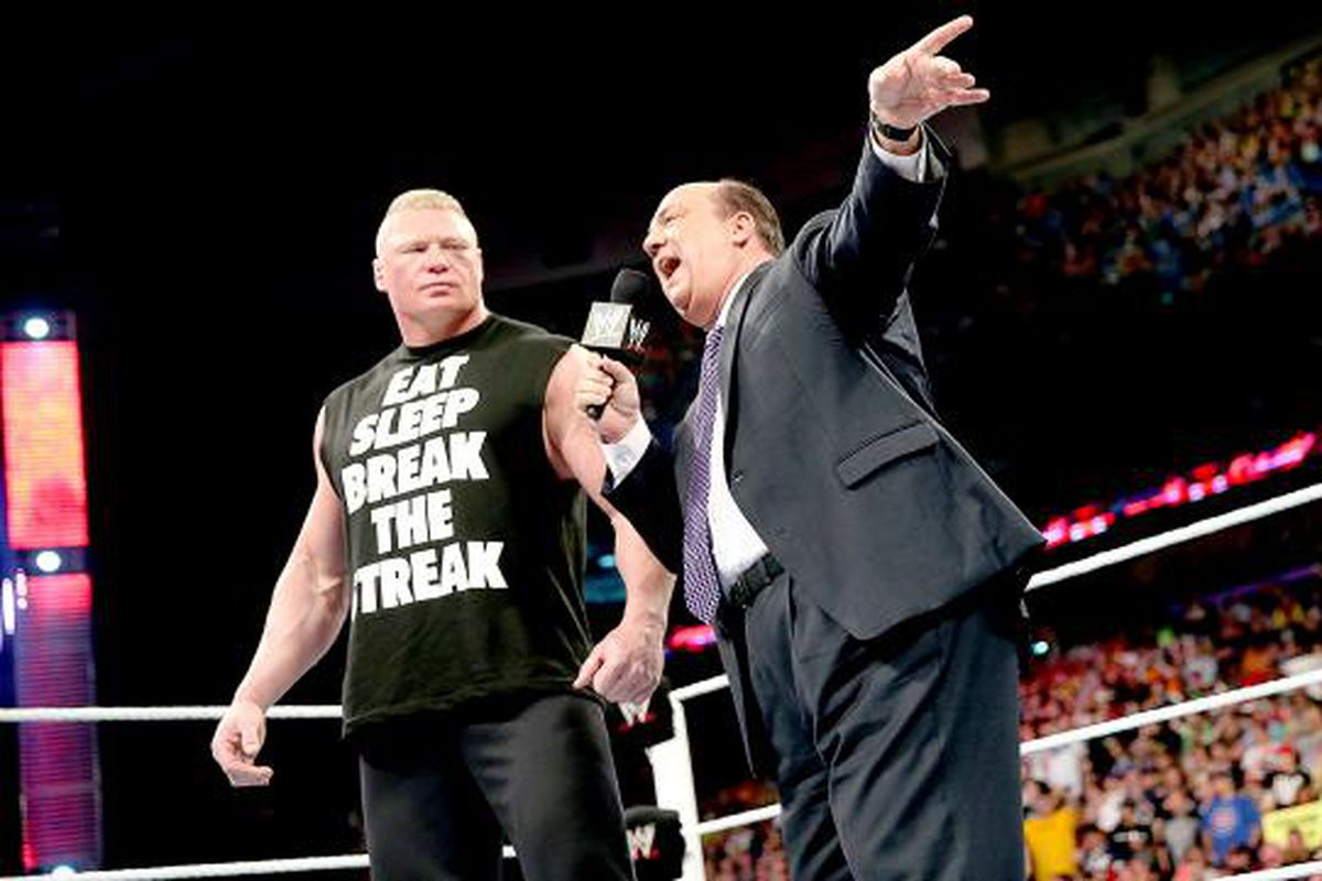 Paul Heyman Cut The Greatest Promo Of All Time After Brock Lesnar