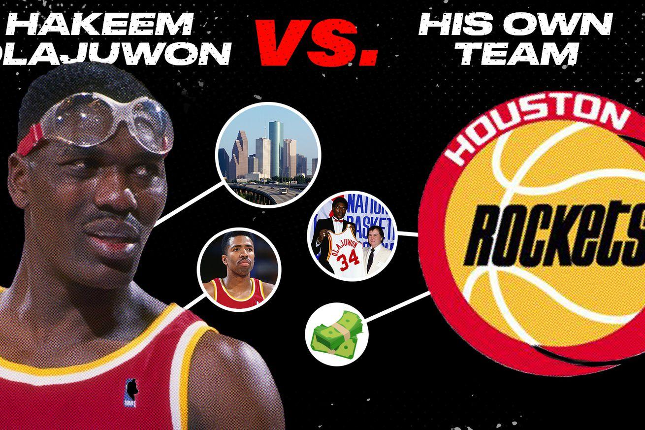 BFH THUMB Hakeem NB.0 - Beef History: Hakeem Olajuwon vs. the Houston Rockets