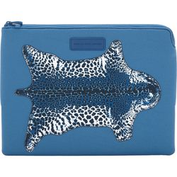 """<b>Marc by Marc Jacobs</b> 13"""" laptop case, <a href=""""http://www.barneyswarehouse.com/marc-by-marc-jacobs-jaguar-13%22-laptop-case-00505033650104.html?index=41&cgid=clearance-whswaccessories"""">$24.50</a>"""