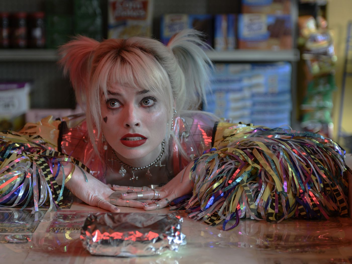In Birds Of Prey Harley Quinn Is Fueled By A Bacon Egg And Cheese Eater