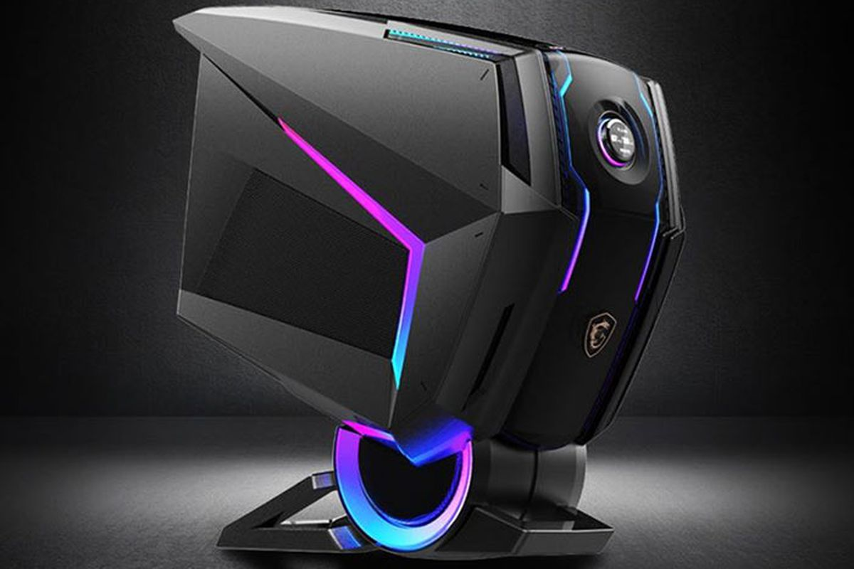 Msi S New Gaming Pc Looks Like A Robot S Head The Verge