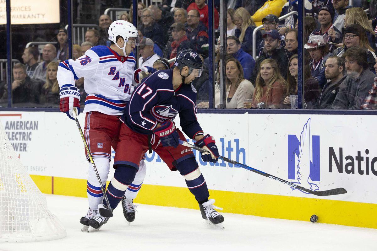 NHL: New York Rangers at Columbus Blue Jackets