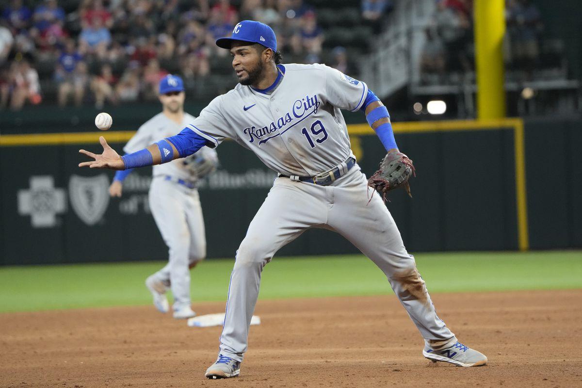 MLB: Kansas City Royals at Texas Rangers