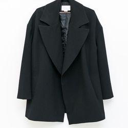 Achro drop shoulder coat, $135