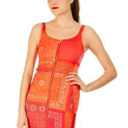 "Zip-down Bandana Print Tank Dress, <a href=""http://www.openingceremony.us/products.asp?menuid=2&designerid=1494&productid=64039"">$375</a>"