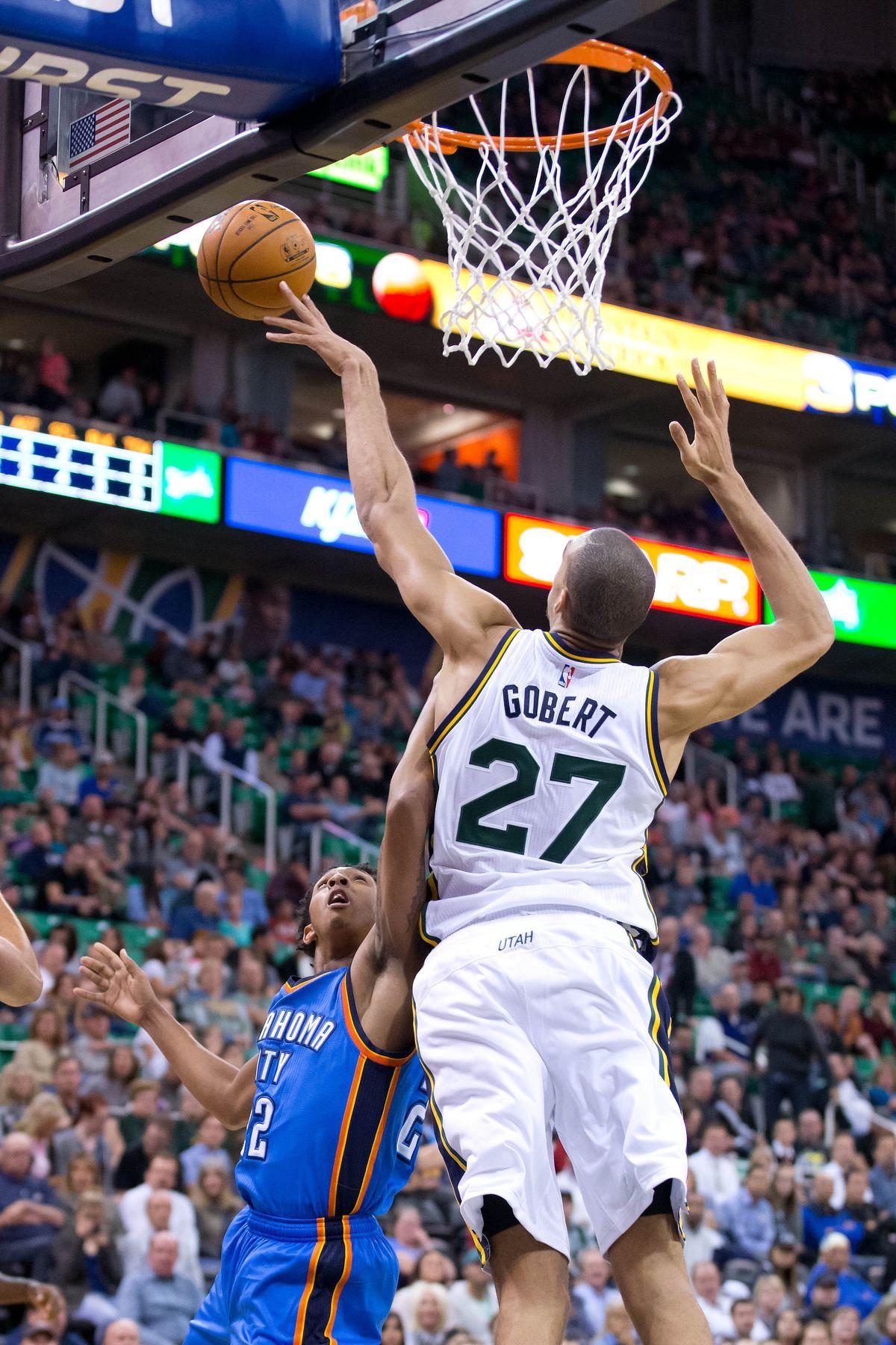 NBA: Preseason-Oklahoma City Thunder at Utah Jazz