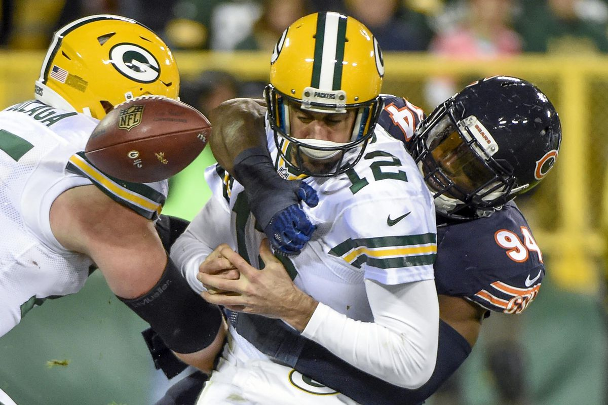 Leonard Floyd LOVES playing the Packers!!!!