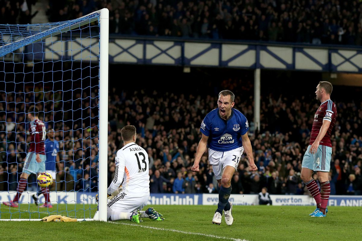 Will Leon Osman be back at the position he filled so successfully against West Ham?