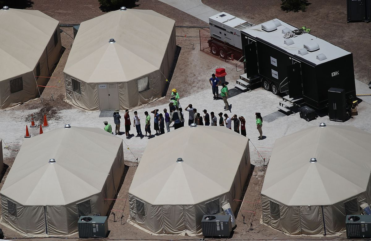 Family Separation Looks Like This Texas Camp For Migrant
