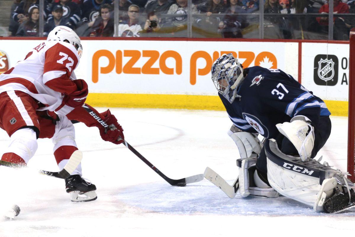 NHL: Detroit Red Wings at Winnipeg Jets