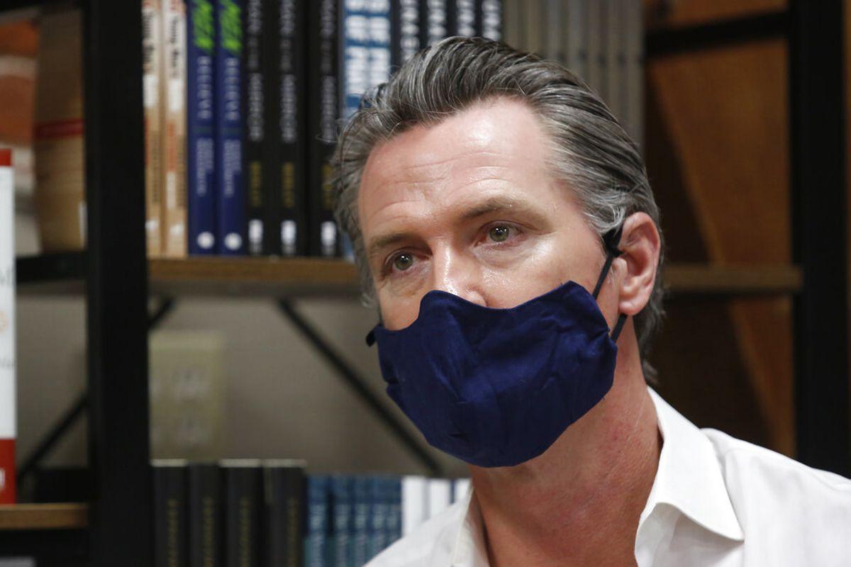 Gov. Gavin Newsom Announces Statewide Face Mask Mandate For California