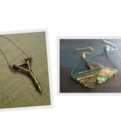 """Handcrafted crystal, precious metal, and gemstone jewelry by <a href=""""http://www.etsy.com/shop/OldBlood"""">Old Blood</a>."""