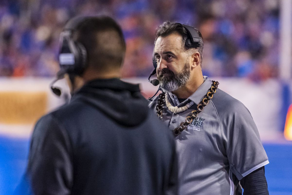 COLLEGE FOOTBALL: OCT 12 Hawaii at Boise State