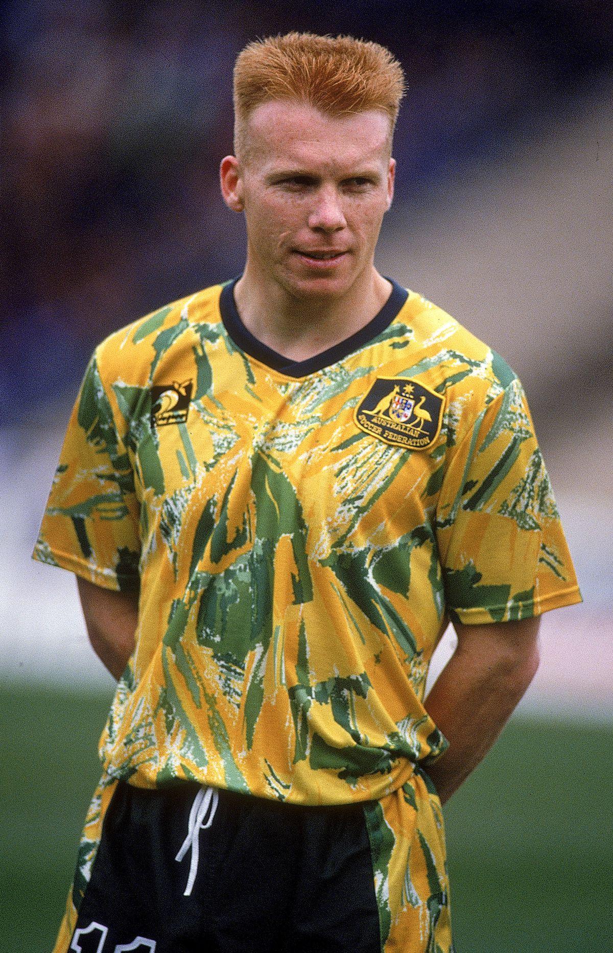 Nobody does ugly sports uniforms like Australia 6