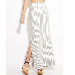 "<b>Reformation</b> Star Skirt, <a href=""http://thereformation.com/STAR-SKIRT-STRIPE.html"">$178</a>"