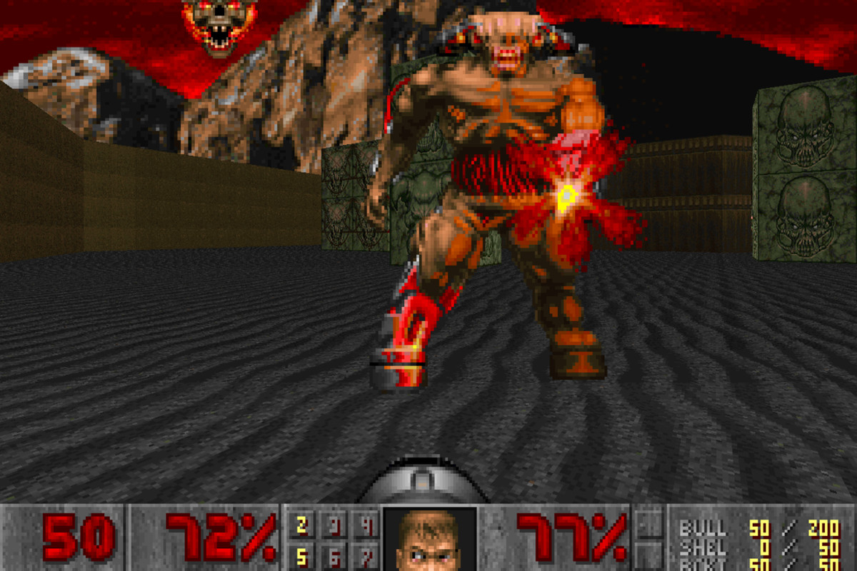 You can download John Romero's first new Doom level in 21