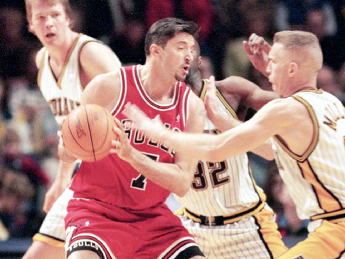 Toni Kukoc was an All-Rookie second-teamer in 1994 and the Sixth Man of the Year in 1996.
