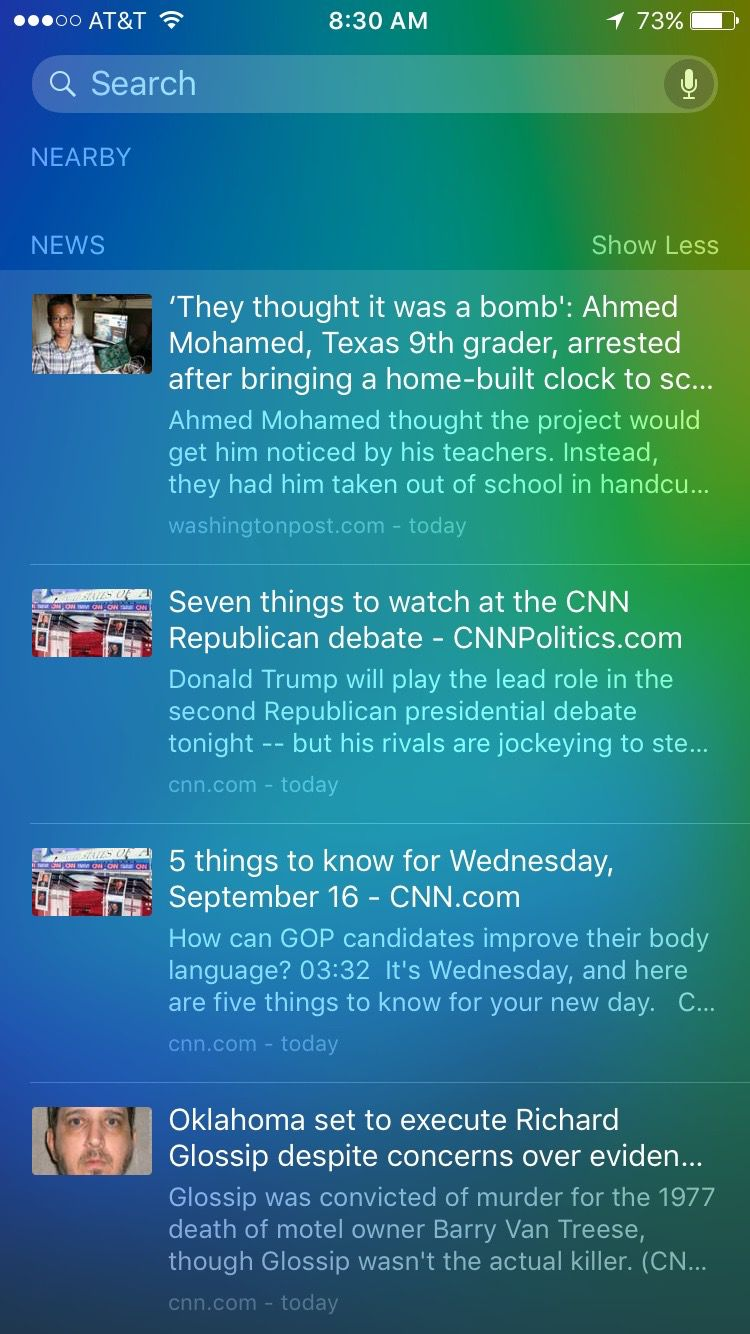 Apple News in Siri