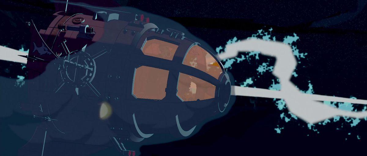 one of the submarine pods in atlantis