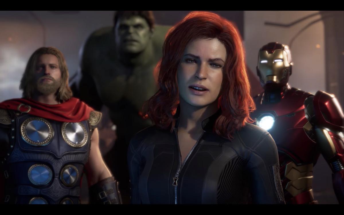 漫威的复仇者角色在视频游戏中不会改变。 - 多边形 -Screen_Shot_2019_06_13_at_10.09.16_AM