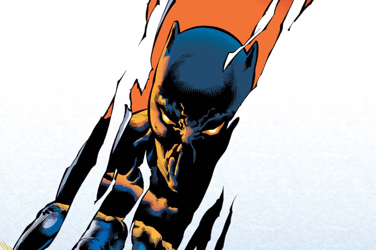 From the cover of Black Panther #33, Marvel Comics, 2001.