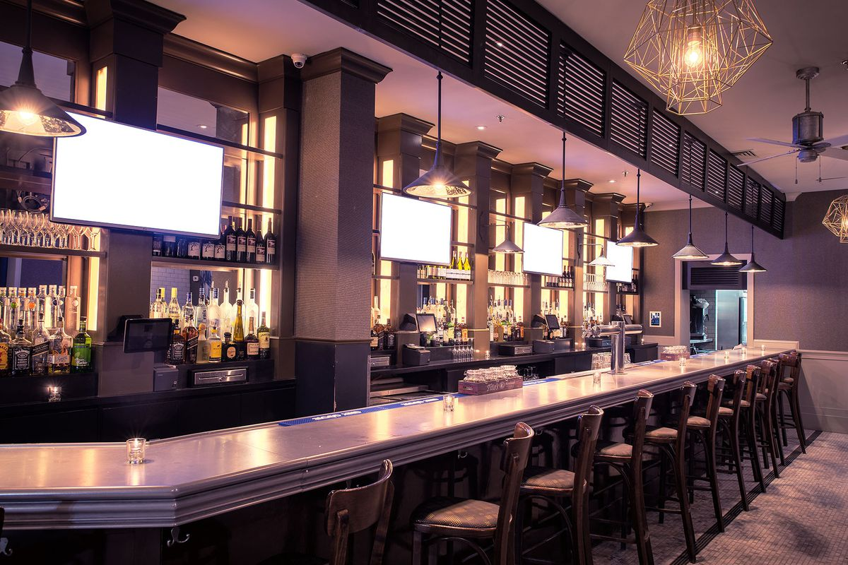 kingston grille & bar softly opens in downtown crossing - eater boston