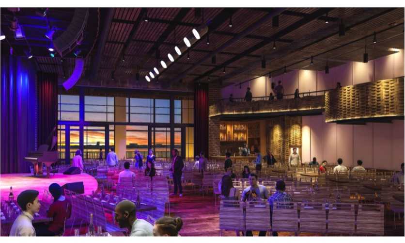Rendering of City Winery