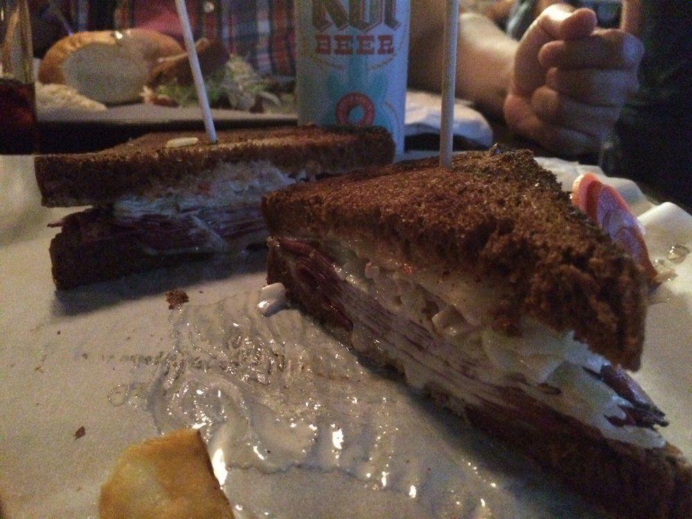 "Gourmands' Orgy sandwich. [Photo: <A href=""http://www.yelp.com/biz_photos/gourmands-neighborhood-pub-austin-2?select=ROnF4CJ4EiI8yzA4DzZhmg"">Brandon C./Yelp</a>]"