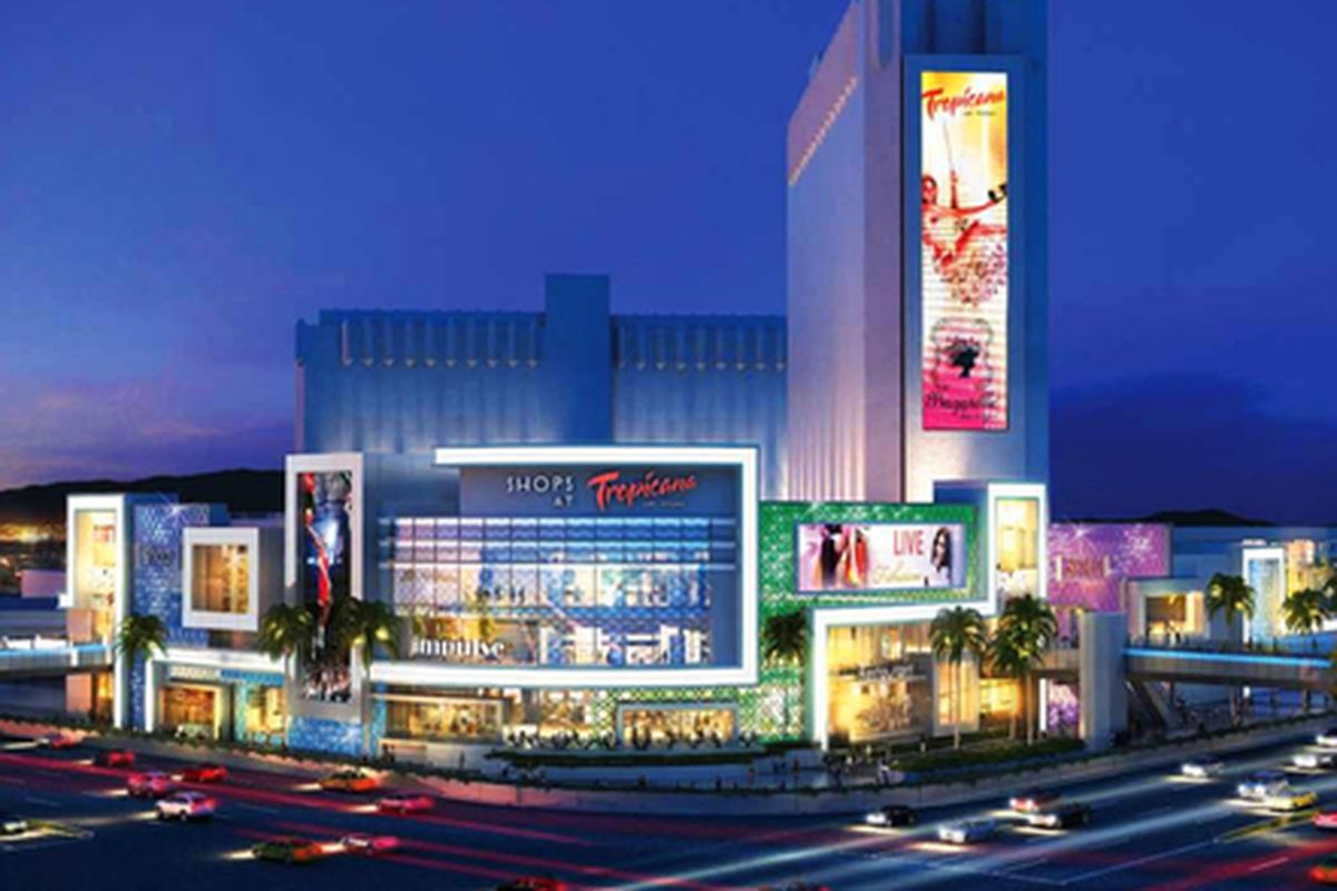 """Rendering courtesy of RKF and via <a href=""""http://vegas.racked.com/archives/2013/11/22/the-tropicana-dreams-of-a-100-million-retail-mall.php"""">Racked Vegas</a>."""