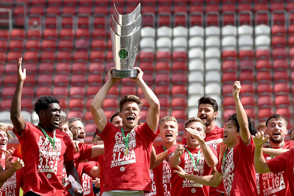 Bayern Munich II win the 3.Liga! - Bavarian Football Works
