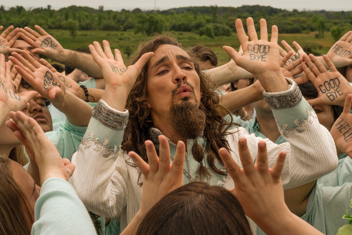 umbrella academy season 2: klaus and his cult sing a song