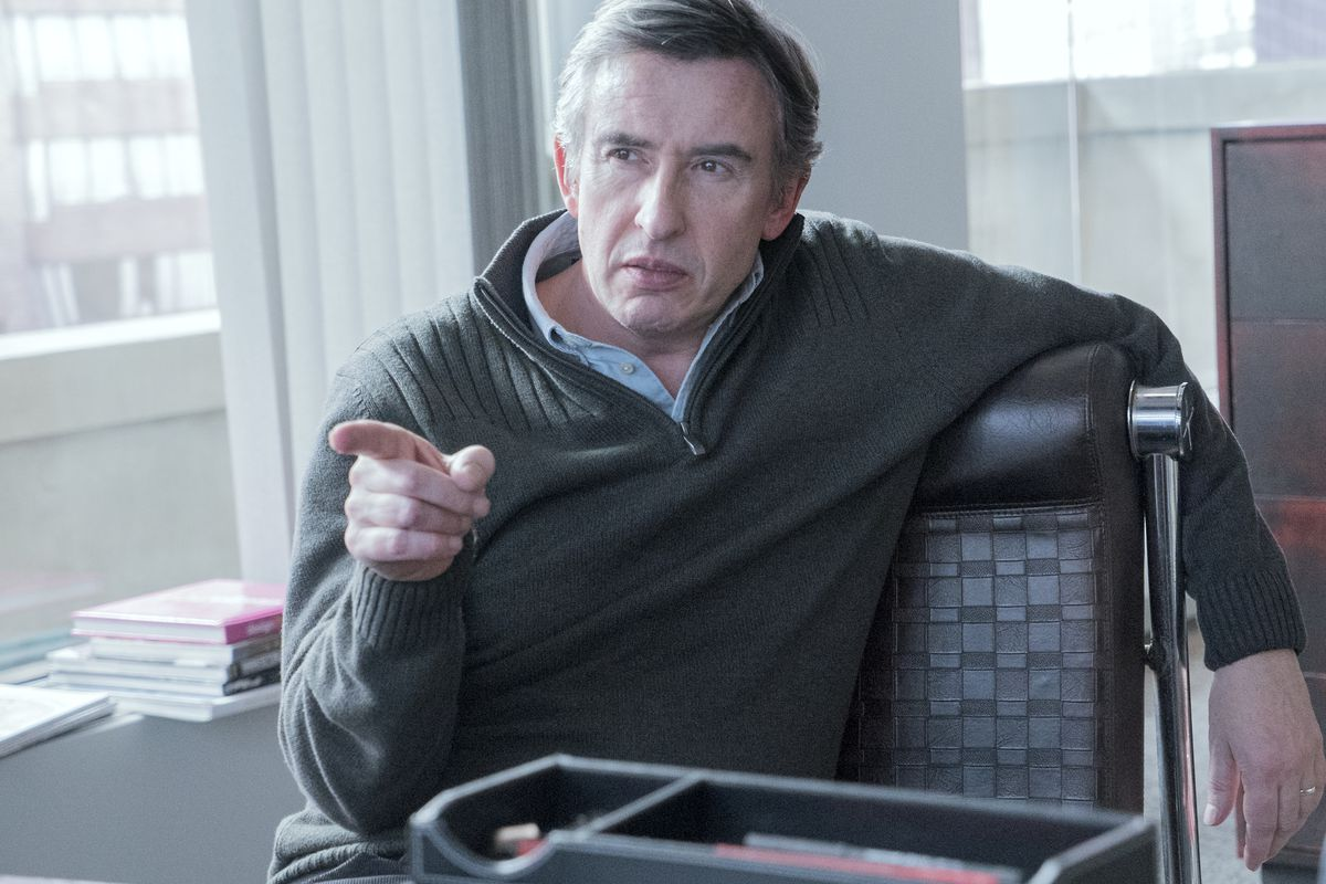 Steve Coogan stars in Happyish, and he wants you to know everything's going to be all right.