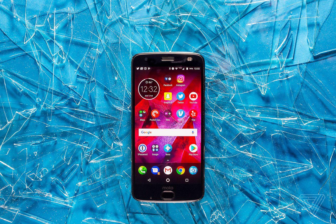 Motorola Moto Z2 Force phone