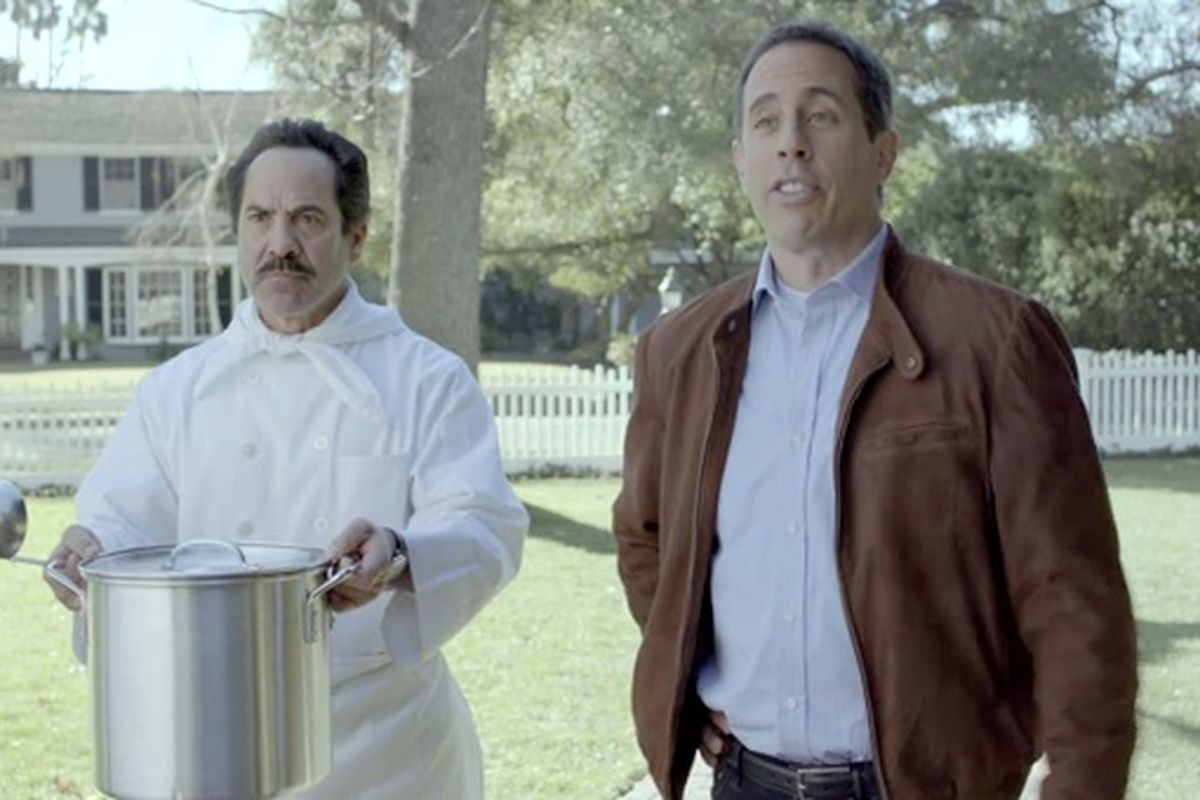 Jerry Seinfeld is in a quest to get the first Acura NSX in this Super Bowl 2012 commercial.