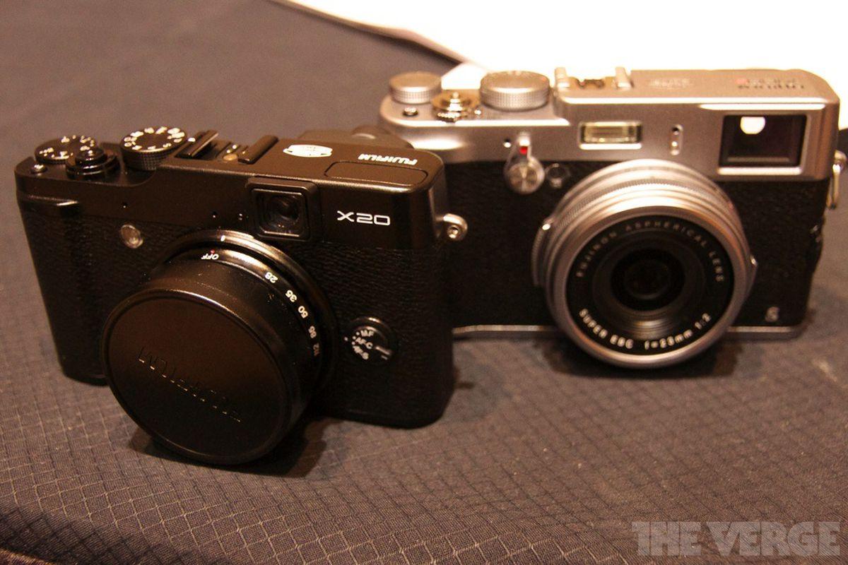 Fujifilm X20 and X100s