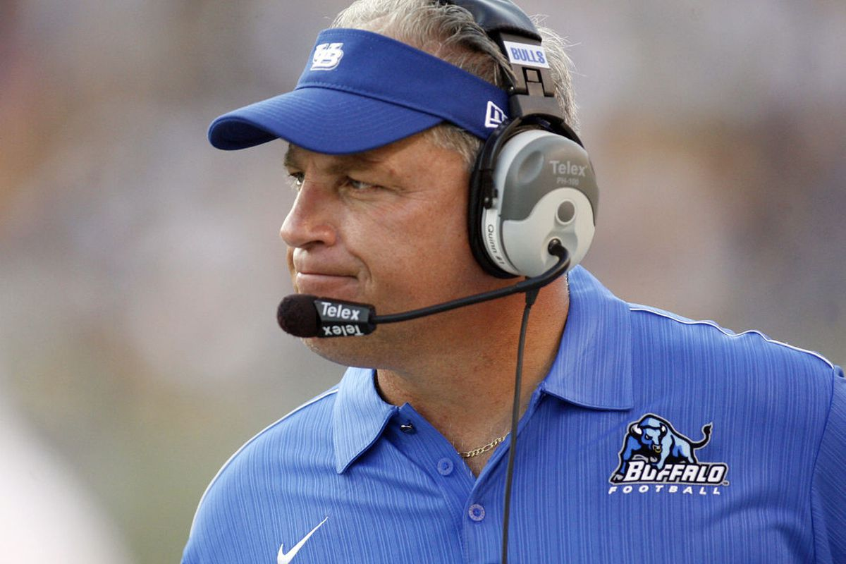 Jeff Quinn has five wins in two seasons. Seems like another two- or three-win season and that could be it for him at UB. (Charles LeClaire-US PRESSWIRE)
