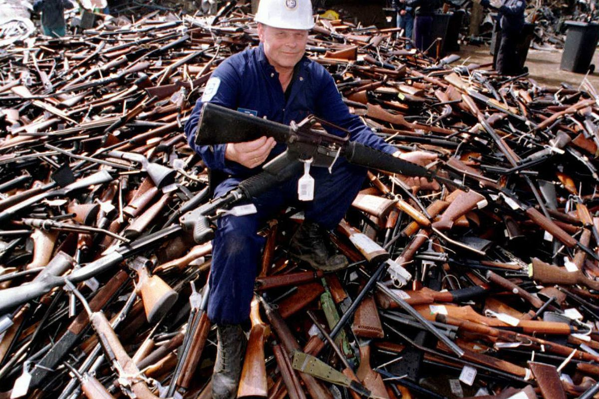 Australia confiscated 650,000 guns  Murders and suicides plummeted
