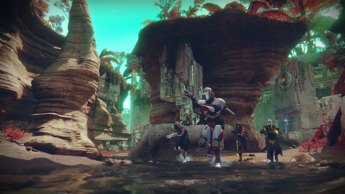 Destiny 2 - Crucible Control on Endless Vale map on Nessus