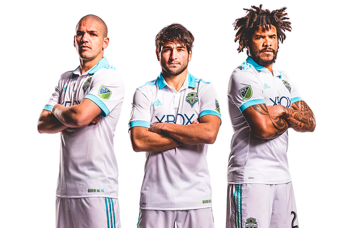 3d6dae1fc65 It is fitting that Brian Schmetzer is head coach when the Seattle Sounders  reveal their first-ever throwback kit. The new secondary uniform, ...