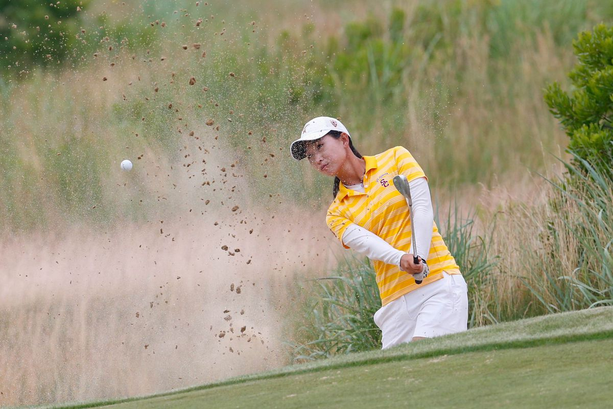 Doris Chen, seen here during the 2013 U.S. Women's Open, earned USC Golf their second-straight individual NCAA championship