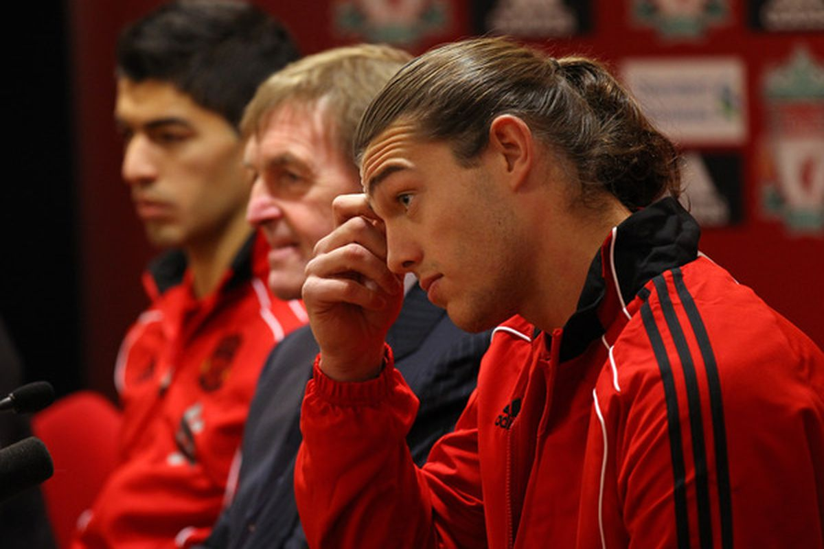 Carroll scratches his head, as does our Liverpool fan Sam about the lanky striker's transfer.