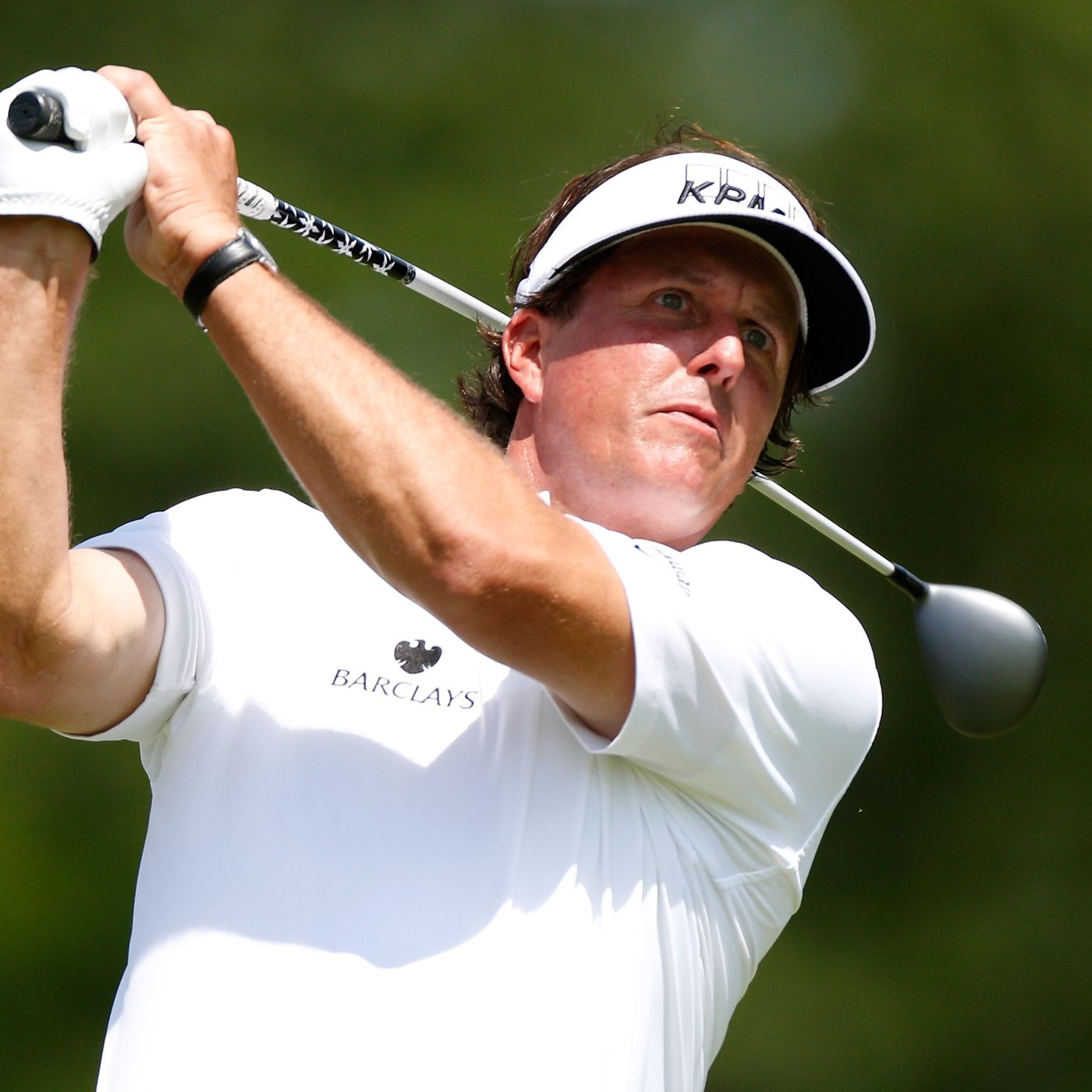 2013 Bridgestone Invitational leaderboard: Phil Mickelson at 2-under after 9