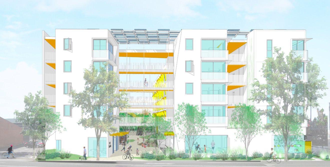 Five-story affordable housing development is Santa Monica's largest