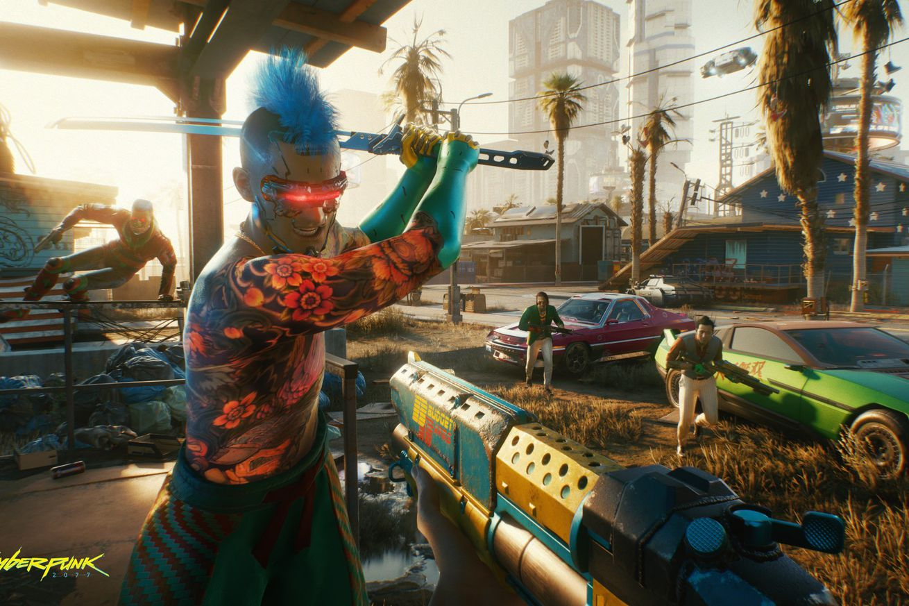 Cyberpunk 2077 discs are  today for PS4, PS5, Xbox One and Xbox Series X