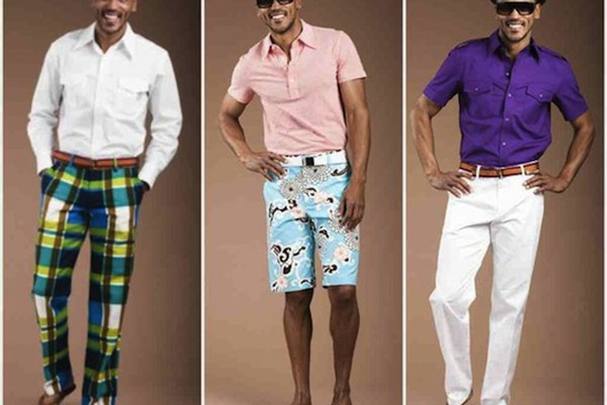 """The mandals here are killing us. Among other things. Image via <a href=""""http://latimesblogs.latimes.com/alltherage/2010/05/trina-turk-menswear-collection-mr-turk-now-available-online.html"""">All the Rage</a>."""
