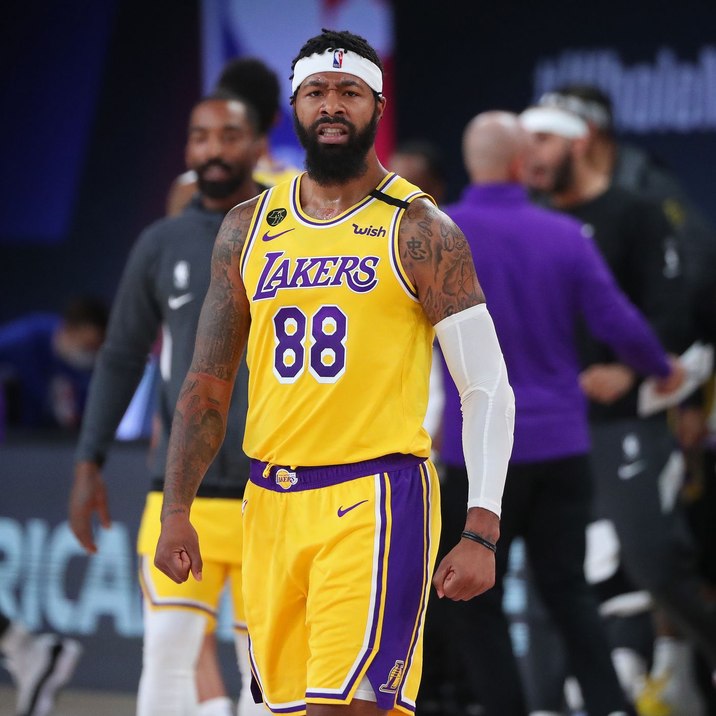 Nba Playoffs Markieff Morris Wants To Give Lakers Energy Off Bench Silver Screen And Roll