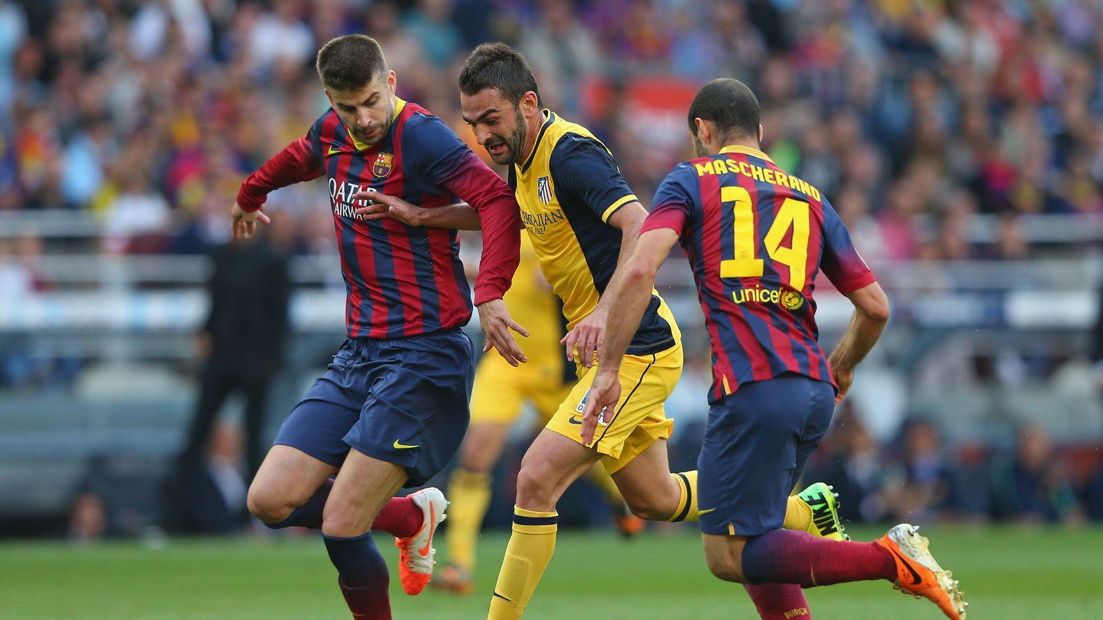 la liga infographic  barcelona defenders and the msn trio