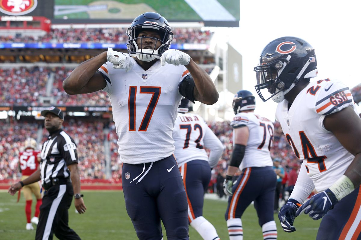 save off a607a 24834 Fantasy football, Week 1: Start or sit Anthony Miller ...