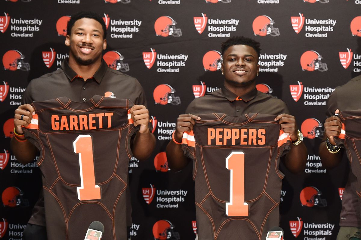 fc00990999c Ken Blaze-USA TODAY Sports. The 2017 NFL Draft is officially over, and the  Cleveland Browns walked away ...