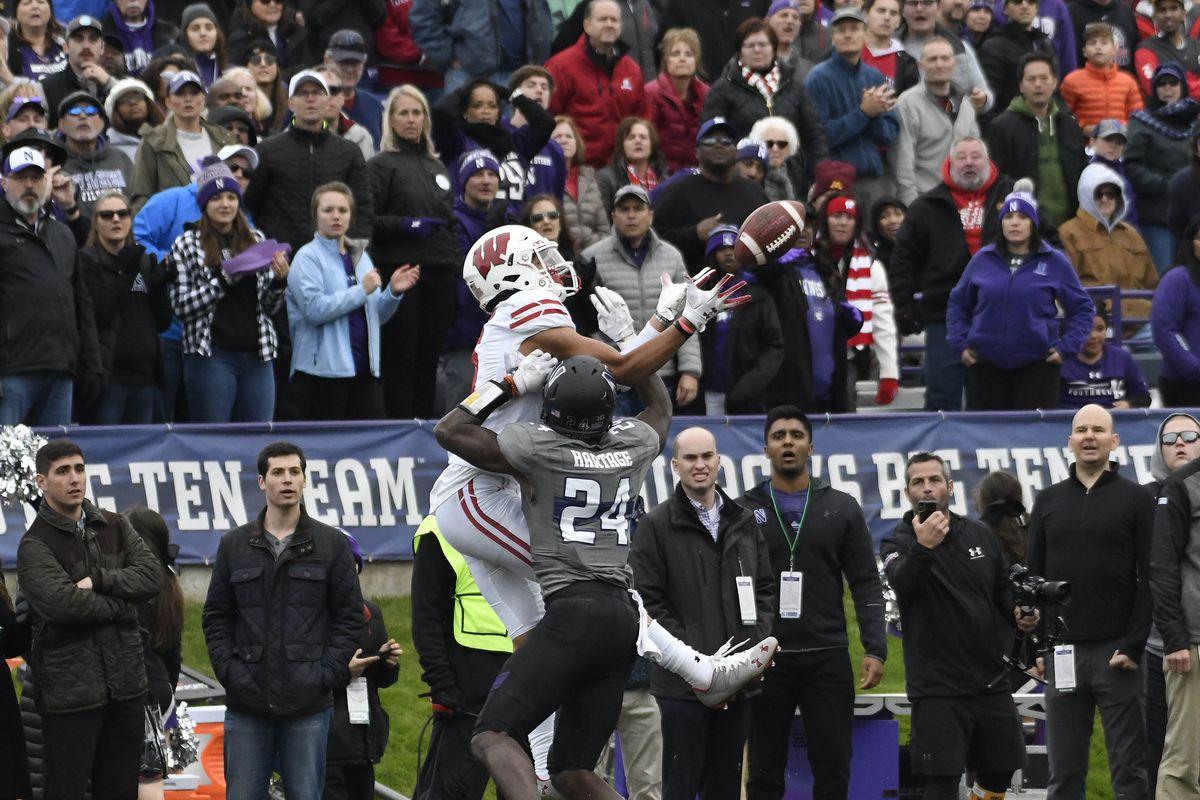 NCAA Football: Wisconsin at Northwestern